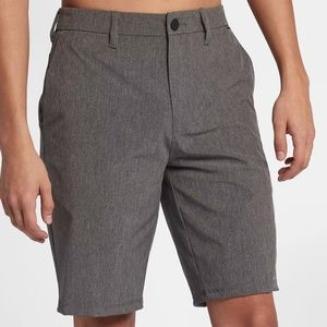 "Mens Hurley Phantom 20"" shorts Heather Grey"